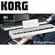 KORG B1 Digital Piano /88鍵電鋼琴/黑色單琴/ 公司貨保固 product thumbnail 1