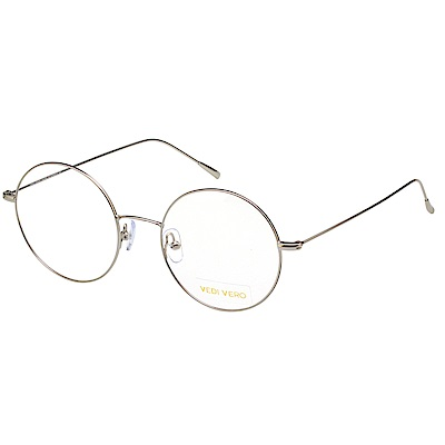VEDI VERO 復古 光學眼鏡 (銀色)