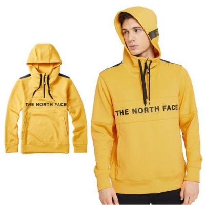 The North Face 中性新款 針織長袖連帽上衣_鮮黃 N