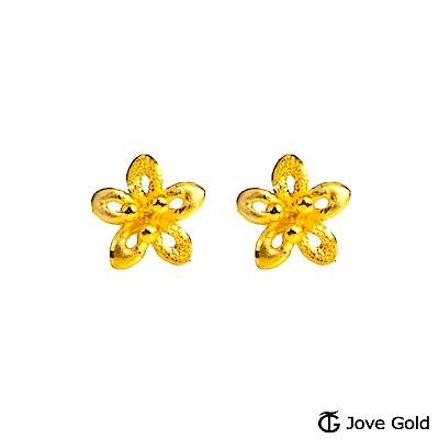 Jove gold 春日祝福黃金耳環