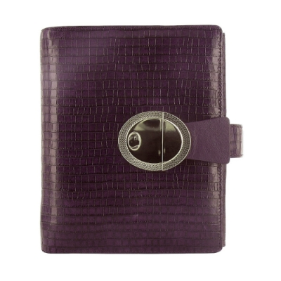 Filofax PKT DECO 口袋型萬用手冊-深咖啡