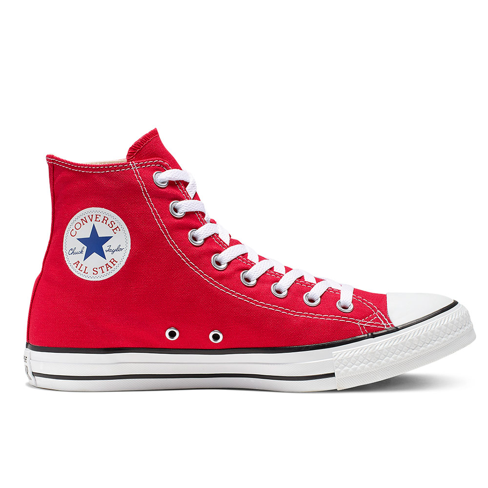 CONVERSE-All Star HI -休閒鞋-紅 product image 1