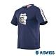 K-SWISS Tape T-Shirt SNOOPY聯名短袖T恤-男女-深藍 product thumbnail 2