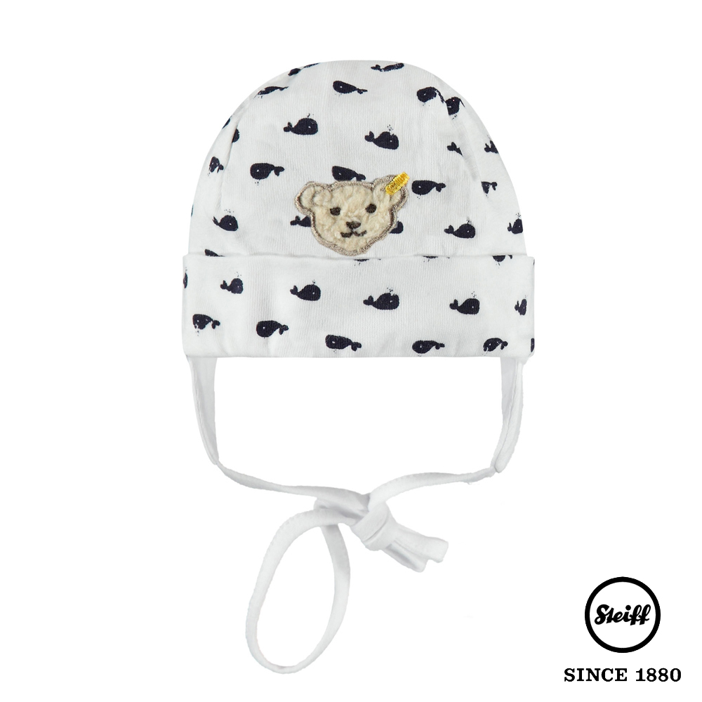 STEIFF德國精品童裝 熊熊鯨魚圓頂帽