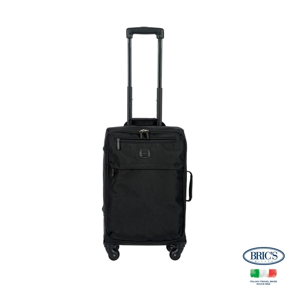 BRICS 義大利 SIENA 19.5吋 黑色 防水布箱 登機箱
