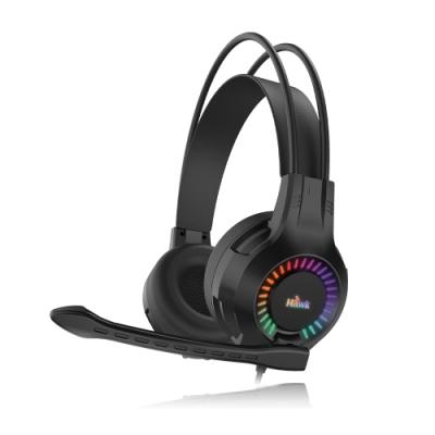 Hawk RGB發光頭戴電競耳麥 G5050