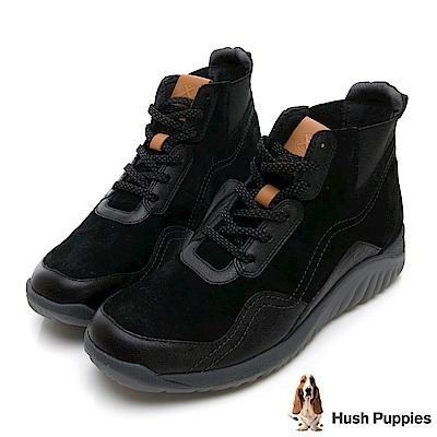 Hush Puppies TIDAL 戶外風短靴-黑