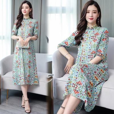 【韓國K.W.】韓國設計名媛氣質寬鬆洋裝