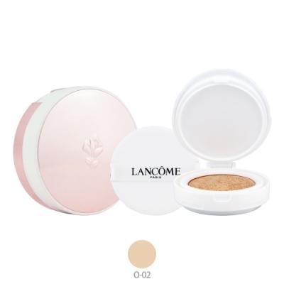 LANCOME蘭蔻 超極光精華氣墊粉餅(SPF50+/PA+++)13g+粉盒-#O-02