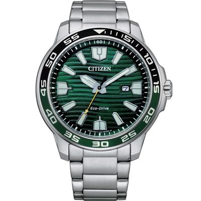 CITIZEN星辰 GENT S 光動能限量休閒男士腕錶(AW1526-89X)-44.5mm