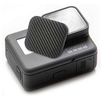 (2入)GoPro 副廠 HERO6 HERO5 入門款 carbon紋軟式 主機鏡頭蓋
