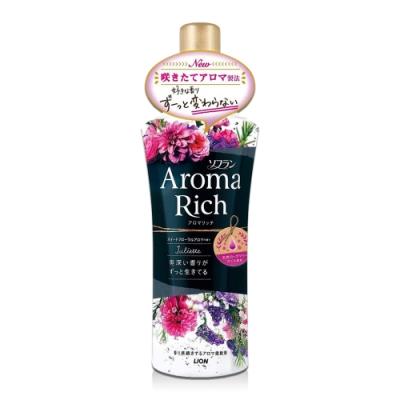 日本 Aroma Rich 衣物香氛柔軟精 520ml-黑色Juliette