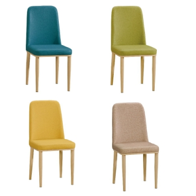 MUNA 坦菲皮餐椅/休閒椅(共四色) 44X49X89.5cm