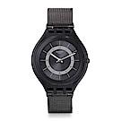Swatch Deep Wonder系列 SKINKNIGHT超薄靜夜手錶