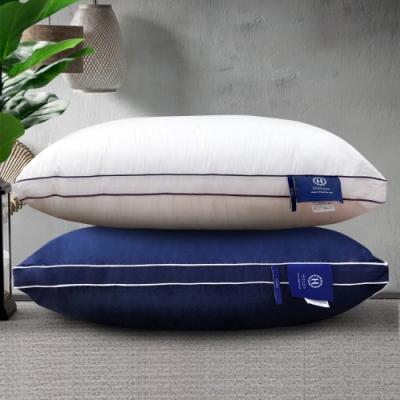 (限時下殺)Hilton 希爾頓 五星級純棉立體銀離子抑菌獨立筒枕 買一送一