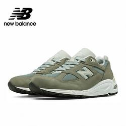 【New Balance】美製復古運動鞋_中性_JP配色灰藍_M990