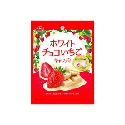 加藤草莓代可可脂白巧克力糖(76g)