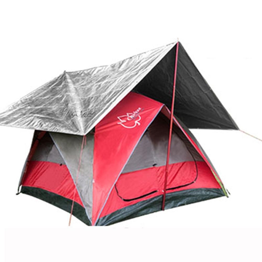 【Outdoorbase】萬用抗UV冰涼墊多層防曬隔熱墊 內附收納袋-21652