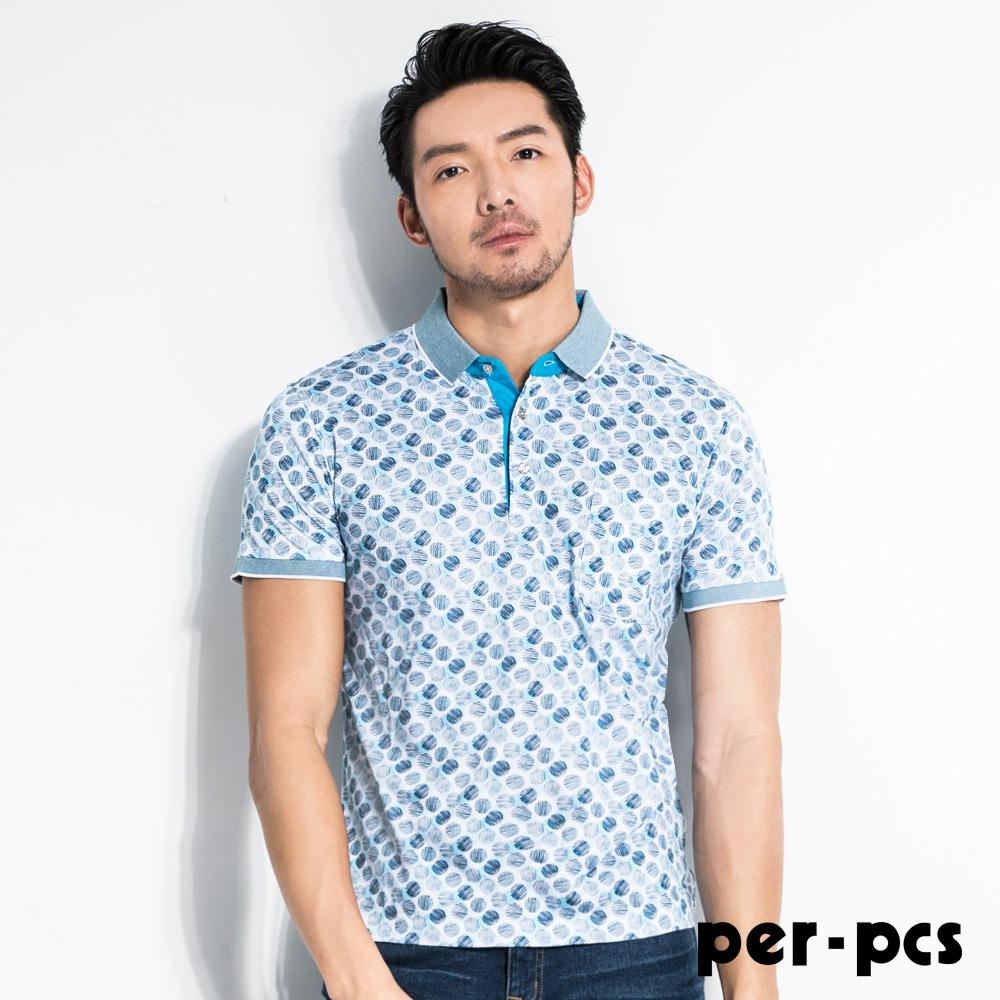 per-pcs 時尚都會風範休閒POLO衫(716501)