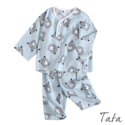 兒童 極涼感小熊印花居家服 TATA KIDS