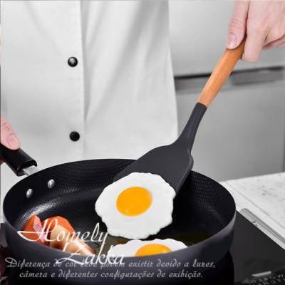 【Homely Zakka】木趣食光實木矽膠廚具_鍋鏟