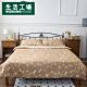 【雙11暖身3件3折-生活工場】3M吸濕排汗四件雙人舖棉床組-棕 product thumbnail 1