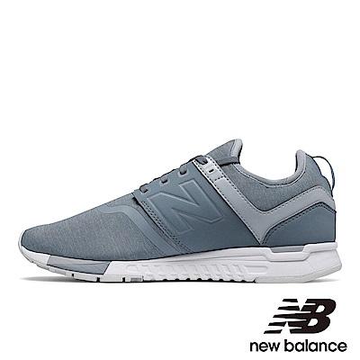 New Balance 復古鞋 WRL247YE 女 灰藍