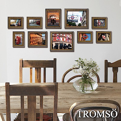 TROMSO 丹麥樂活相框牆10框組