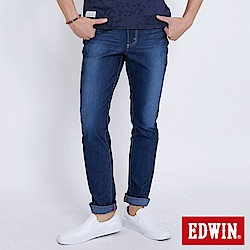EDWIN JERSEYS迦績極彈 AB牛仔褲-男-石洗綠