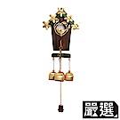 嚴選 磁吸式銅鈴鐺木藝風鈴掛飾(愛巢)