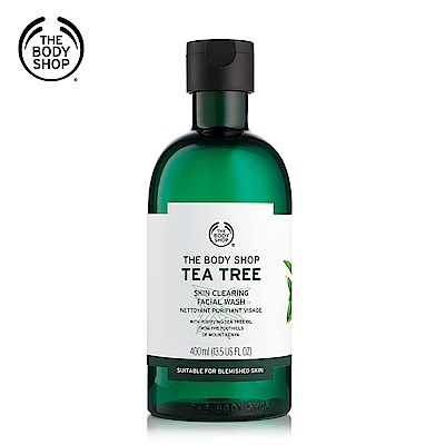 The Body Shop 茶樹淨膚深層潔面膠400ML