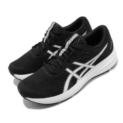 Asics 慢跑鞋 Patriot 12 運動休閒 女鞋 亞瑟士 輕量 緩衝 入門 日常穿搭 黑 白 1012A705001