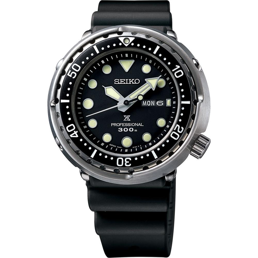 SEIKO 精工 Prospex 1975經典鮪魚罐頭 300米潛水手錶(S23629J1/7C46-0AN0U)