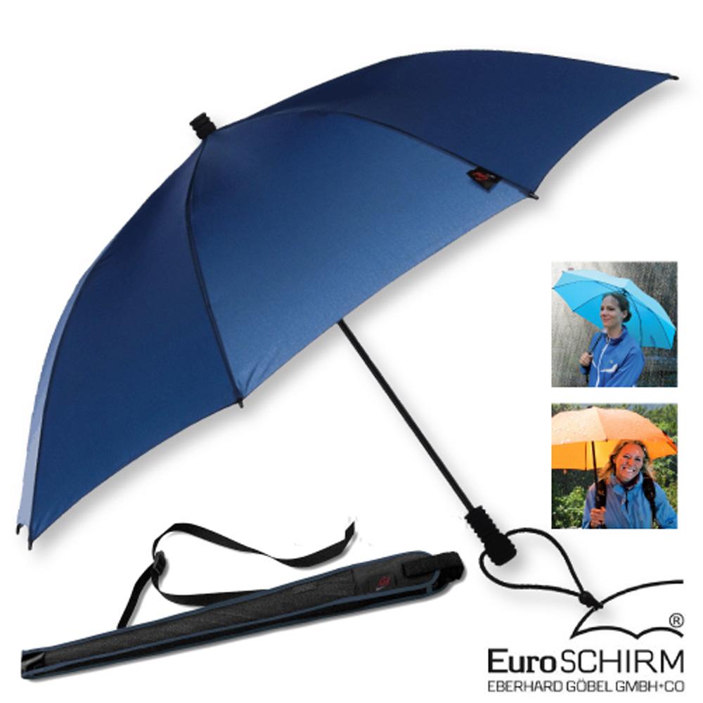 EuroSCHIRM SWING LITEFLEX 戶外專用直把傘_海軍藍