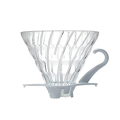 HARIO-V60白色02玻璃濾杯1~4杯 / VDG-02W