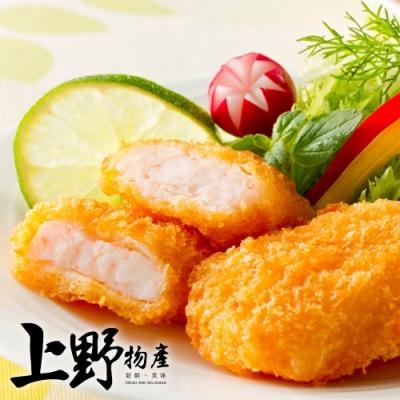 【上野物產】日式酥脆大鮮枝排(400g±10%/5片/包)x4包