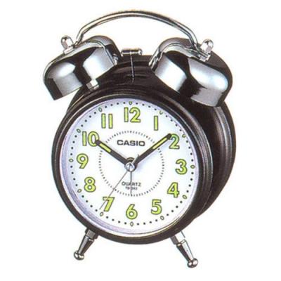 CASIO 指針雙響音鬧鐘(TQ-362-1B)白面