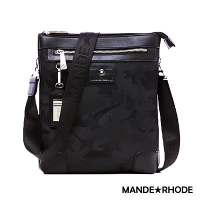 MANDE RHODE-卡莫雷茲x美系潮男風格立式側背包