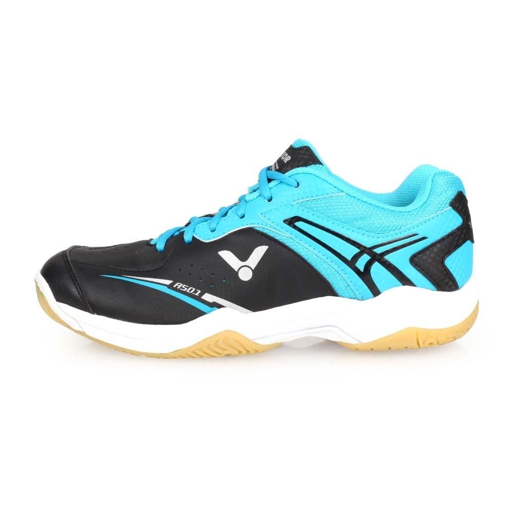 VICTOR A501系列 男專業羽球鞋-4E-羽毛球 寬楦 勝利 黑水藍