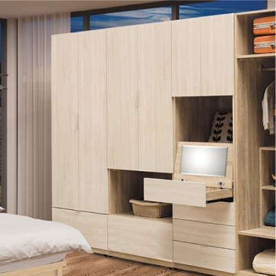 AS-葛妮絲2.5尺雙門衣櫃-75x60x197cm