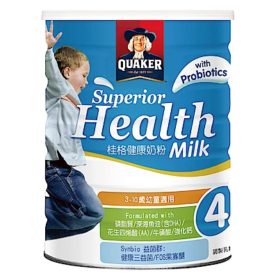 桂格 健康小朋友奶粉(1500g) 2罐組合價