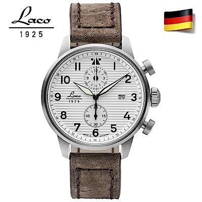 Laco 朗坤861974 德國工藝 BERN軍錶 石英錶42mm