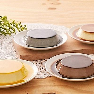 依蕾特 綜合經典布丁奶酪禮盒(鮮奶6+可可6+芒果6+芝麻6)(CAT)