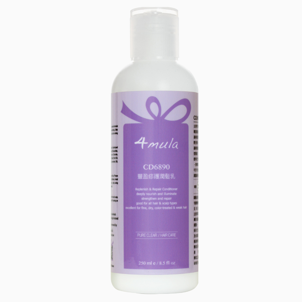 4mula 膚慕蕾 髮絲潔淨系列 豐盈修護潤髮乳 (250ml)