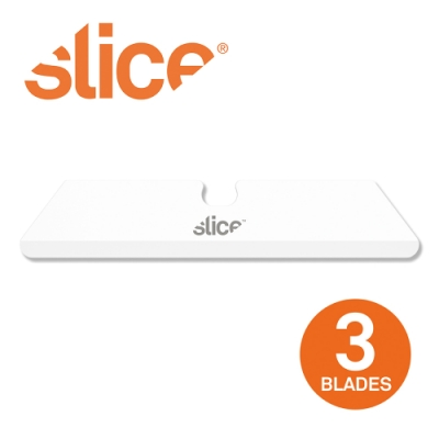 【Slice】多用途陶瓷替刃-短刃-圓 3入組
