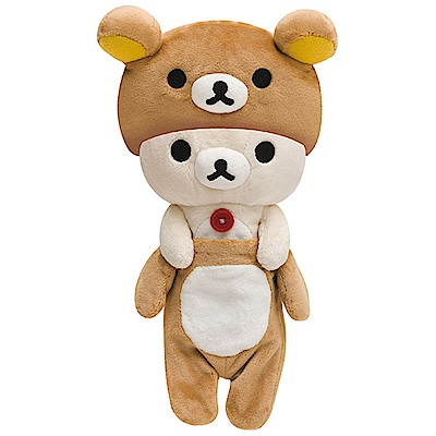拉拉熊懶熊布偶衣系列毛絨公仔。懶妹 San-X
