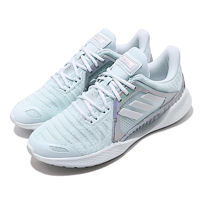 adidas 慢跑鞋 ClimaCool Vent 運動 女鞋 愛迪達 路跑 涼感 透氣 張鈞甯 藍 銀 EF2013