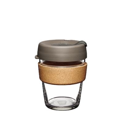 澳洲KeepCup隨身杯 軟木玻璃系列340ml/M-奶油絲絨(快)