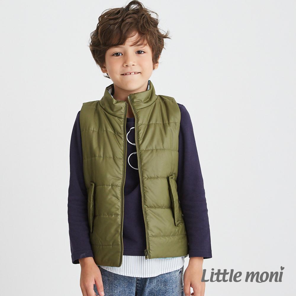 Little moni 3M科技羽絨保暖雙面穿背心(共4色) product image 1