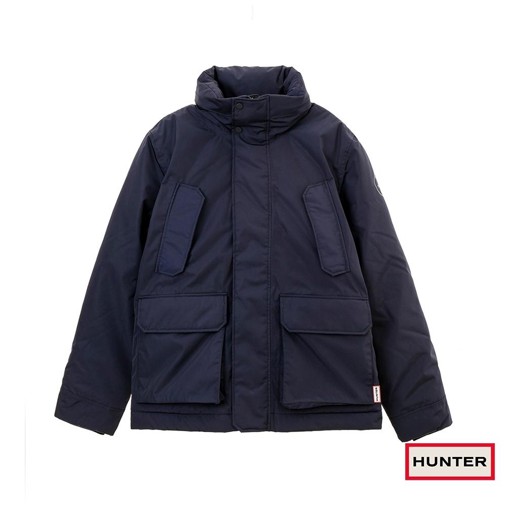 HUNTER - 男裝 - 防水塗層聚脂纖維風衣 - 藍